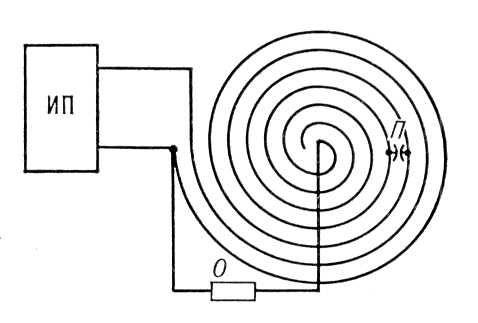 Схема кабельного генератора