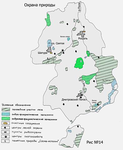 Охрана природы Шатурского края