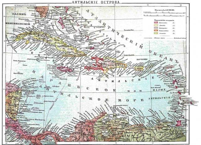 антильские острова 8